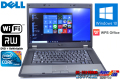Windows10 64bit 中古ノートパソコン DELL Latitude E5510 Core i5 520M(2.40GHz) メモリ2G マルチ WiFi WPSオフィス