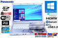 Panasonic 中古ノートパソコン Let's note SX2 Core i5 3340M (2.70GHz) メモリ4G Windows10 64bit USB3.0 WiFi マルチ Bluetooth カメラ