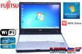 モバイルノートパソコン 富士通 LIFEBOOK P771/D Core i5 2520M(2.50GHz) メモリ4G HDD250G WPS OFFICE Windows7