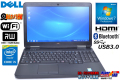 Windows7 中古ノートパソコン デル Latitude E5540 Core i5 4310U(2.00GHz) メモリ4G マルチ WiFi USB3.0 Bluetooth Webカメラ