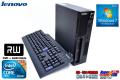 2コア4スレッド 小型 中古パソコン レノボ ThinkCentre M90p Core i5 650(3.2GHz) メモリ2G マルチ HDD320GB Windows7