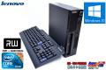 Windows10 2コア4スレッド 小型 中古パソコン レノボ ThinkCentre M90p Core i5 650(3.2GHz) メモリ4G マルチ HDD320GB Windows7