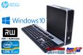 中古パソコン 小型 HP 8200 Elite US 4コア Core i5 2400s (2.50GHz) メモリ4G HDD320GB マルチ Windows10