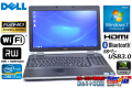 中古ノートパソコン フルHD DELL Latitude E6530 Core i7-3720QM (2.60GHz) メモリ4G マルチ WiFi USB3.0 Bluetooth NVIDIA Windows7 64bit