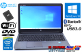 訳あり 中古ノートパソコン HP ProBook 650 G1 Core i5 4210M メモリ8GB 新品SSD Wi-Fi DVD Bluetooth USB3.0 Windows10