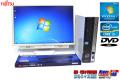 24.1型液晶セット 中古パソコン 富士通 ESPRIMO D581/D Core i3 2120 (3.30GHz) Windows7 メモリ4GB DVD