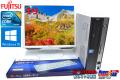 19型液晶セット Windows10 中古パソコン 富士通 FMV-D550/A Core2DUO E7500(2.93GHz) メモリ2G DVD HDD320GB