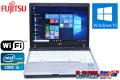 Windows10 モバイルノートパソコン 富士通 LIFEBOOK P771/D Core i5 2520M(2.50GHz) メモリ2G HDD250G