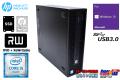 中古パソコン HP ProDesk 600 G2 SFF 4コア Core i5 6500 新品SSD256G HDD1000G メモリ8G マルチ Windows10