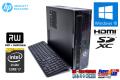 中古パソコン HP Slimline 450-120jp Core i7 4790T (2.70GHz) 4コア8スレッド メモリ4G HDD500GB マルチ HDMI Windows10 64bit