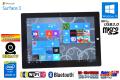 10.8 FHD+ タブレット Microsoft Surface 3 クアッドコア Atom x7 Z8700 (1.60GHz) WiFi(11ac) メモリ4G 両面カメラ Windows10