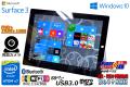 タブレットPC 10.8 FHD+ Microsoft Surface 3 Atom x7 Z8700 4コア (1.60GHz) WiFi(11ac) メモリ4G 両面カメラ Windows10