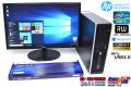 24型 フルHD液晶セット中古パソコン HP Pro 6300 Core i5 3470 (3.20GHz) Windows10 メモリ4G HDD500GB マルチ