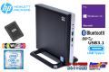 小型 中古パソコン HP ProDesk 800 G3 DM Core i5 7500T 高速WiFi メモリ16G SSD256G Bluetooth USB3.1 Type-C Windows10