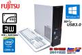 新品SSD 中古パソコン 富士通 ESPRIMO D583HX 4コア Core i5-4570 (3.20GHz) メモリ4G マルチ USB3.0 シリアル/パラレル Windows10