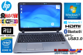 11ac対応 中古ノートパソコン HP ProBook 450 G2 Core i5 4210U(1.70GHz) メモリ4GB マルチ カメラ USB3.0 Windows7 / 8.1
