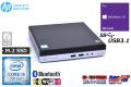 小型 中古パソコン HP ProDesk 400 G3 DM Core i5 7500T メモリ8G Wi-Fi(ac) M.2SSD HDD Bluetooth USB3.1 Windows10