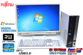 24.1型WUXGA液晶セット 中古パソコン 富士通 ESPRIMO D752/E Core i5 3470 (3.20GHz) Windows7 64bit メモリ4G マルチ USB3.0
