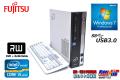 中古パソコン 富士通 ESPRIMO D752/E 4コア Core i5 3470 (3.20GHz) メモリ2G マルチ HDD500GB Windows7 シリアル パラレル