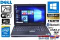 新品SSD 中古ノートパソコン フルHD DELL Latitude E6540 4コア8スレッド Core i7 4800MQ (2.80GHz) Windows10 64bit メモリ4G マルチ WiFi USB3.0 BT RADEON