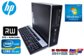 Windows7 64bit 中古パソコン HP 8200 Elite SF Core i5 2400(3.10GHz) メモリ4G HDD250GB DVDマルチ 新品マウス付