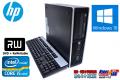 Windows10 64bit 中古パソコン HP 8200 Elite SF Core i5 2400(3.10GHz) メモリ4G HDD250GB DVDマルチ 新品マウス付