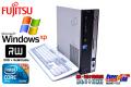 WindowsXP 富士通 中古パソコン ESPRIMO D750/A Core i5 650 (3.20GHz) DVDマルチ メモリ4G HDD320GB シリアルポート