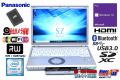 中古ノートパソコン Panasonic Let's note SZ5 Core i5 6300U 新品SSD256G メモリ4G Wi-Fi (ac) マルチ Bluetooth Webカメラ Windows10