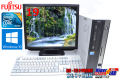19型液晶セット Windows10 中古パソコン 富士通 FMV-D530/A Core2DUO E8400(3.00GHz) メモリ2G マルチ HDD320GB