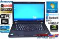 アウトレット レノボ THINKPAD W530 Core i7 3740QM(2.70GHz) フルHD メモリ8G マルチ WiFi NVIDIA Windows7 / 8 64bit モバイルワークステーション