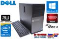 メモリ16GB 中古パソコン DELL OPTIPLEX 9020 MT 4コア8スレッド Core i7 4770 (3.40GHz) Windows10 64bit HDD1TB マルチ RadeonHD