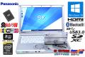 中古ノートパソコン Panasonic Let's note SX4 Core i5 5300U メモリ8G SSD256G Wi-Fi (ac) マルチ Webカメラ Windows10