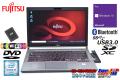 中古ノートパソコン 14.1型 富士通 LIFEBOOK E746/P 第6世代 Core i5 6300U メモリ8G 新品SSD256G WiFi(ac) Bluetooth Windows10