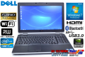 Windows7 64bit 15.6型フルHD ノートパソコン DELL Latitude E6530 Core i7-3720QM(2.60GHz) メモリ4G マルチ WiFi USB3.0 Bluetooth NVIDIA