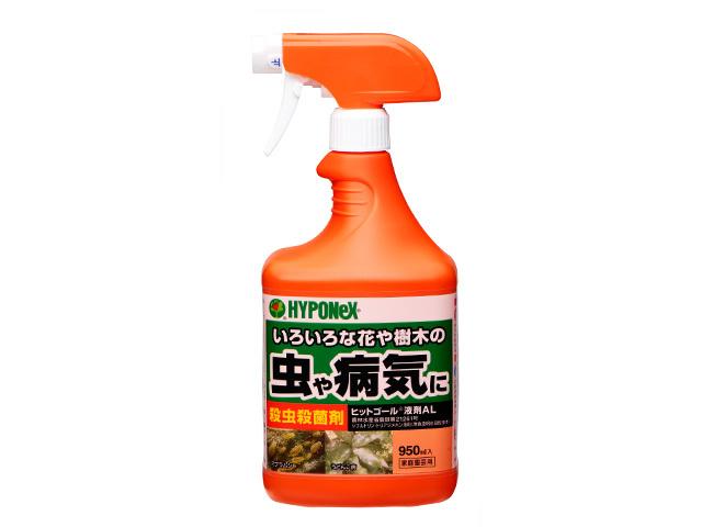 ヒットゴール液剤AL いろいろな花や樹木の虫や病気に 950ml