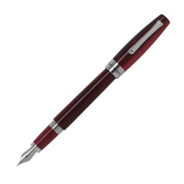 【お取り寄せ】モンテグラッパ(Montegrappa)フェリチータ レッドベルベッド 万年筆
