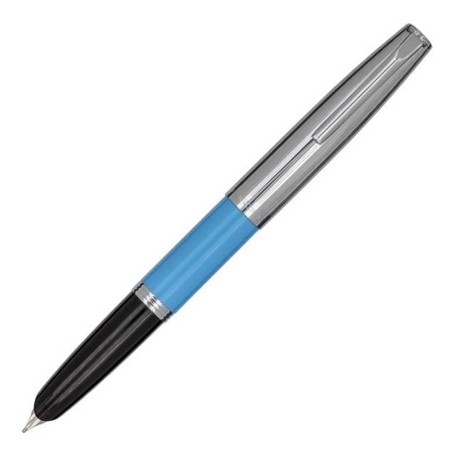 【お取り寄せ】アウロラ(AURORA) デュオカルト ライトブルー・クロームキャップ 万年筆 DC57-CAM