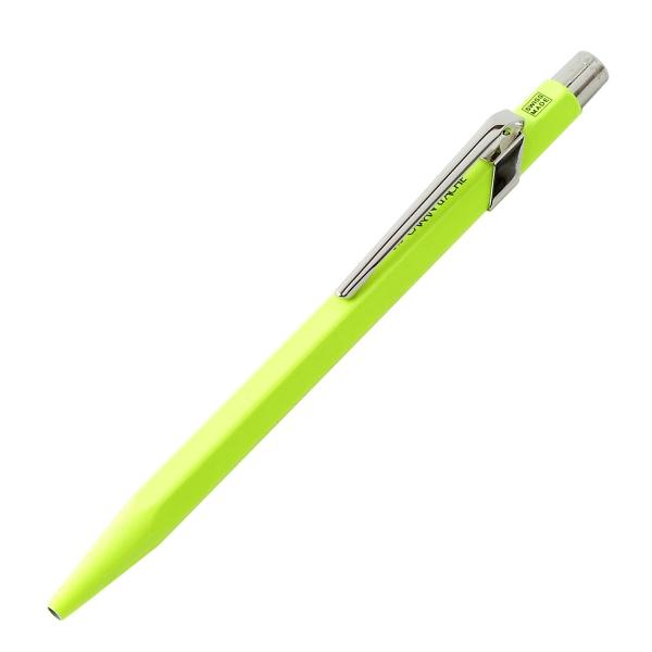 【即納可能】カランダッシュ(CARAN d'ACHE)849 POPLINE 蛍光イエロー ボールペン NF0849-970