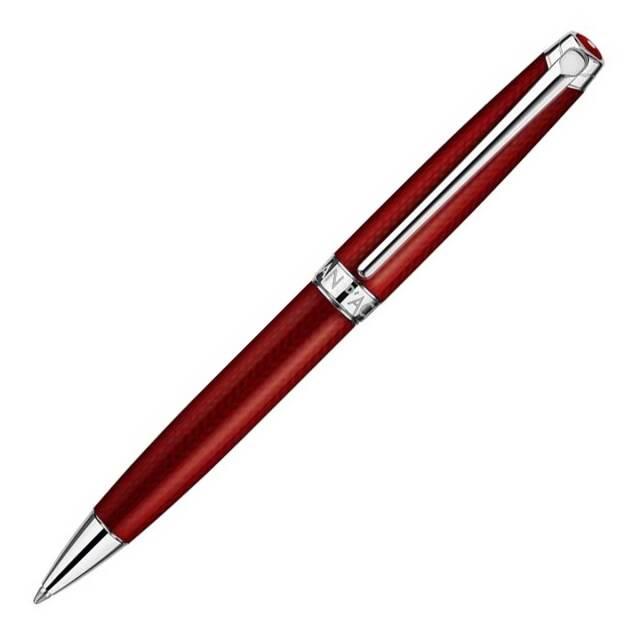 【お取り寄せ】カランダッシュ(CARAN d'ACHE) Leman レマン Rouge Carmin ルージュカーマイン ボールペン 4789-580