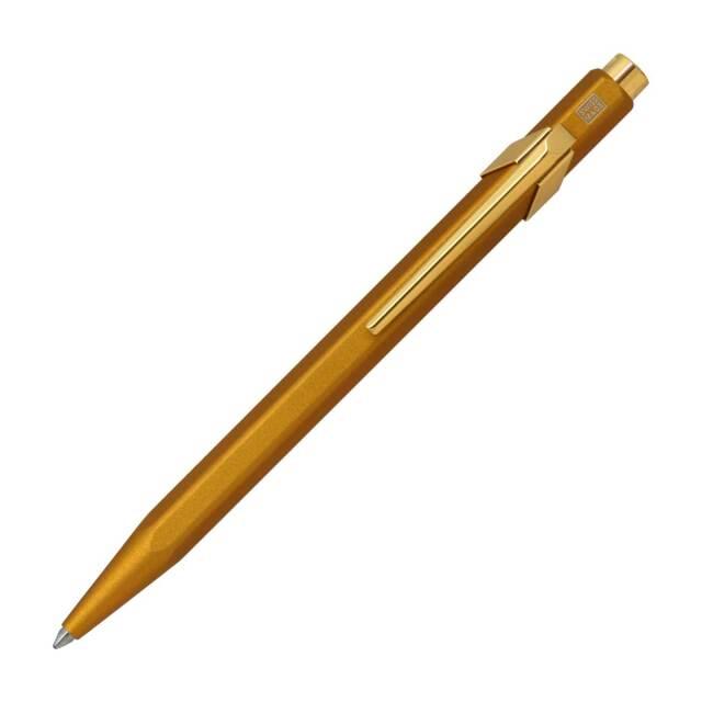 【即納可能】カランダッシュ(CARAN d'ACHE) 849 Gift Line ギフトライン ゴールドバー ボールペン NF0849-999 メール便可
