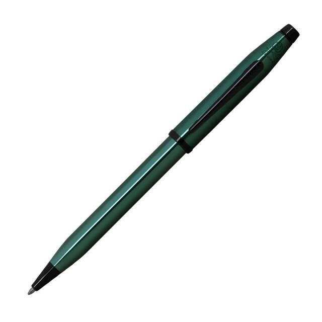 【即納可能】クロス(CROSS)  センチュリー2 トランスルーセントコバルトグリーンラッカー ボールペン NAT0082WG-139