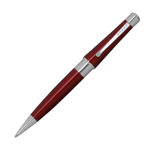 【即納可能】クロス(CROSS)  ベバリー トランスルーセントレッドラッカー ボールペン NAT0492-27