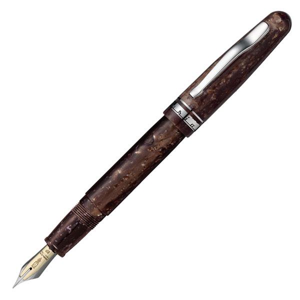 【お取り寄せ】デルタ(DELTA)フュージョン82 ブラウン 万年筆