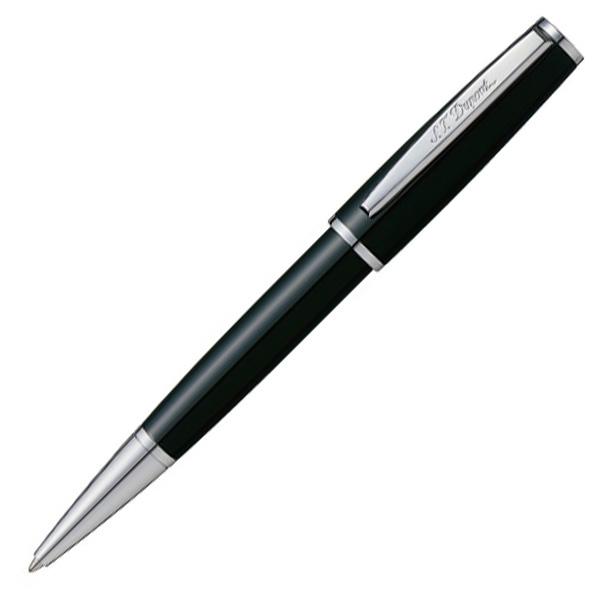 【即納可能】デュポン(S.T.Dupont)SaintMichel ブラック ラッカー & パラクローム ボールペン 440130