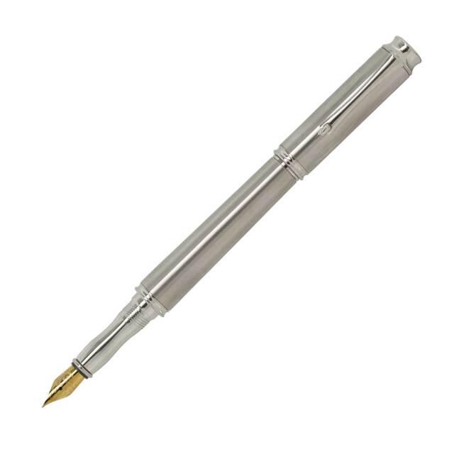 【即納可能】F-STYLE Metal Pen メタルペン 万年筆 KMM200 Silver