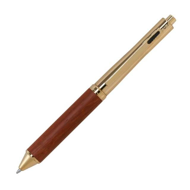 【即納可能】F-STYLE Wood 多機能4C-Pen 多機能ペン TWT2021-2 パドック