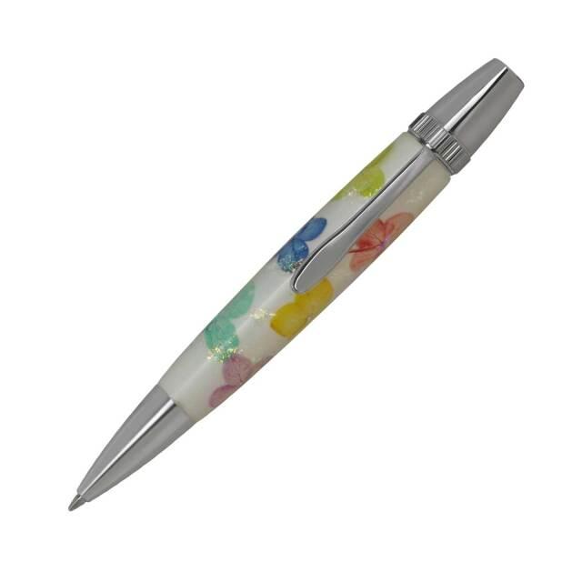 【即納可能】F-STYLE Flower Pen 押花 ボールペン TFB2020 紫陽花 5色