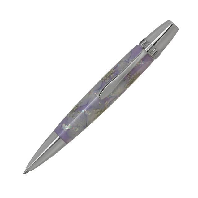 【即納可能】F-STYLE Flower Pen 押花 ボールペン TFB2021 紫陽花 紫色