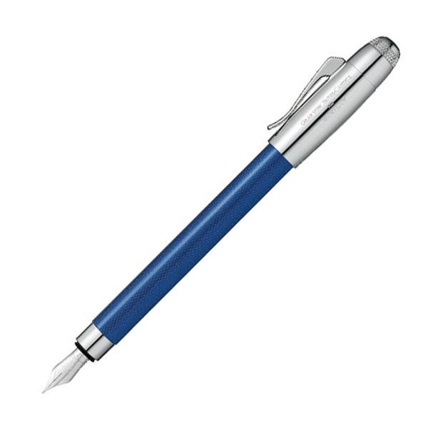【お取り寄せ】グラフ・フォン・ファーバーカステル(Faber Castell) ベントレー SEQUIN BLUE シークインブルー 万年筆