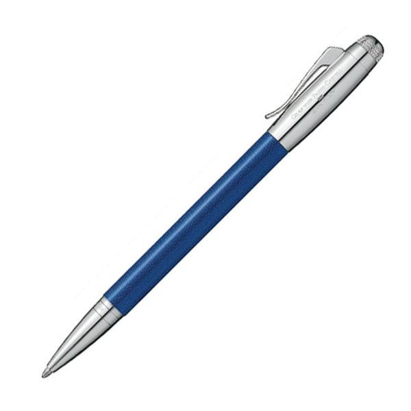 【お取り寄せ】グラフ・フォン・ファーバーカステル(Faber Castell) ベントレー SEQUIN BLUE シークインブルー ボールペン 141749